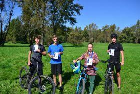 Rowerowa jesień - uczestnicy