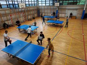 Mistrzostwa w tenisie stołowym - w czasie zawodów